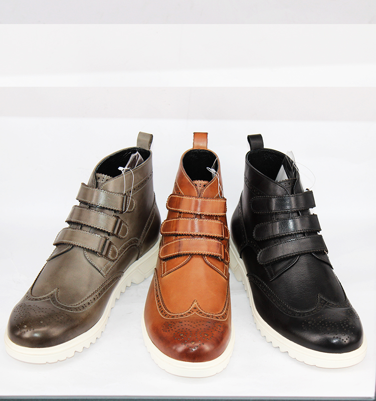 casual for carved 2017 winter shoes brogue men boots Wholesale UwHfA1qR