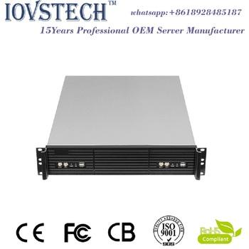 2u Dual Mini-itx Motherboards Rack Mount Server Case - Buy Dual Mini Itx  Case,Server Case,Rack Product on Alibaba com