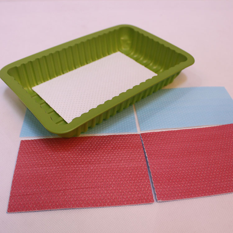 Macromolecule Food Absorbent Meat & Poultry Pads For Meat