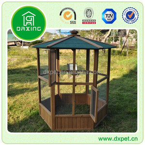 Wholesale Decorative Wooden Canary pigeon Bird Cage House