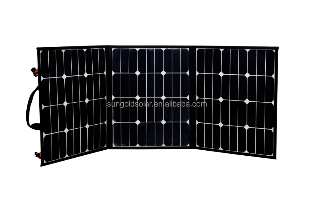 Fabric Versatile portable Folding Solar charger Range