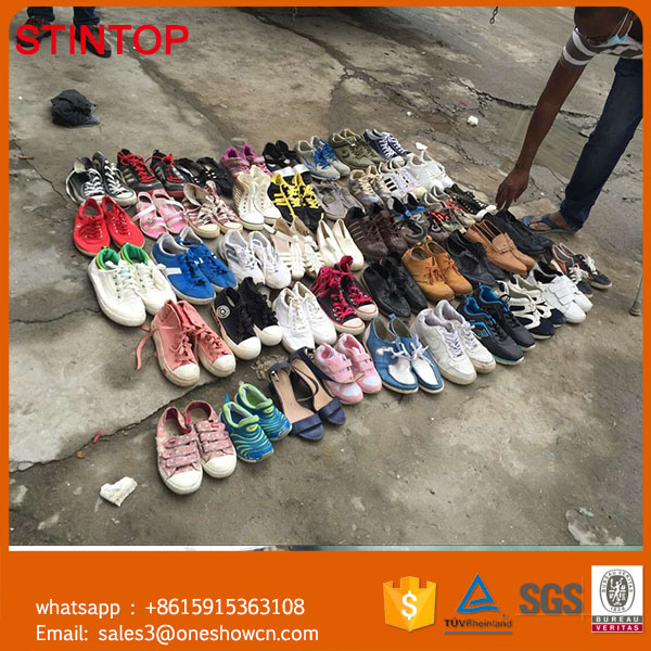 8715fa540a10aa hot sell cheap wholesale shoes in China bulk used kids sneakers for sale