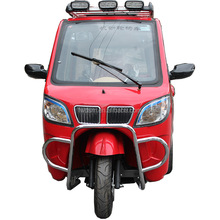 Closed Tricycle Gasoline Three Wheeler Single Cylinder Motorcycle