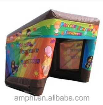 Inflatable Snack Show Stand/Inflatable Outdoor Exhibition Booth