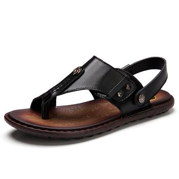 88ec90783 Summer Genuine Leather Men Sandals Comfortable Shoes - Buy ...