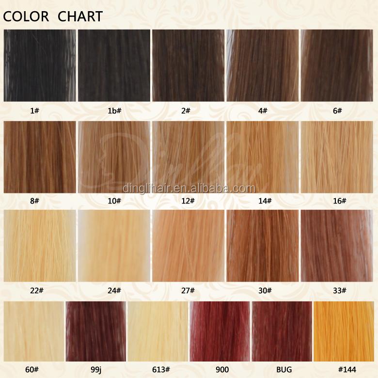 Weave Hair Color Chart Denmarpulsar