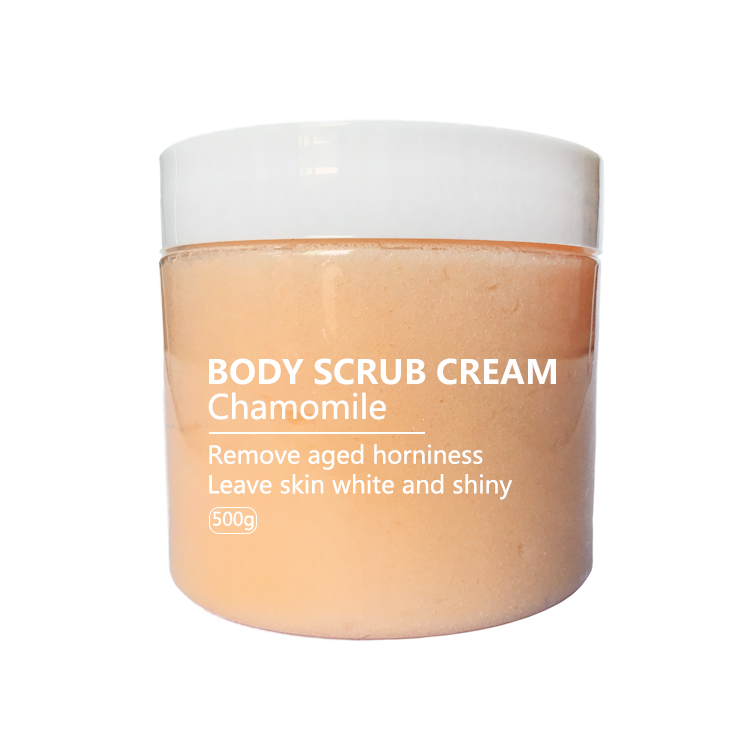 Wholesale natural organic whitening exfoliating body and face scrub cream private label manufacturers