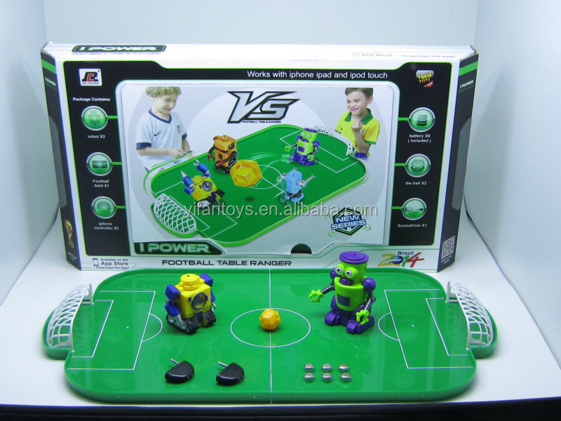 New IR mini smart Fighting robot soccer football table game controlled by iphone and Andorid Toys