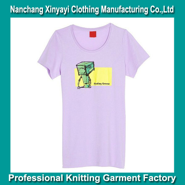 T Shirt Printing Woman Clothing withCustom Clothing Label Custom Made Clothing Manufacturers High Demand Export Products Factory