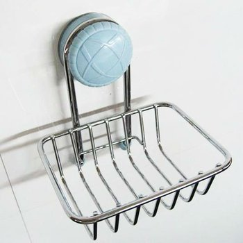 Suction Cup Hanging Corner Shower Soap Dish