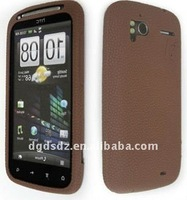 Silicone mobile phone skin for HTC Sensation