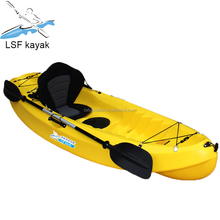 Single boat cheap plastic canoe kayak with prices lsf kayak brands