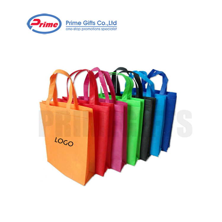 Seven Color With the Paragraph Nonwoven Foldable Tote Bag