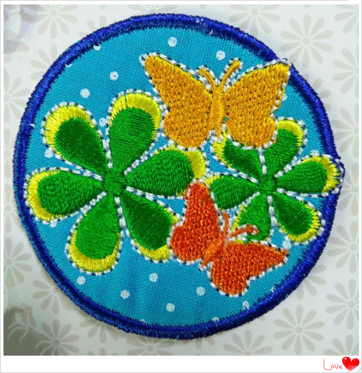 Factory Hot Sale Child Iron On Applique Patch And Hand Work Neck ...