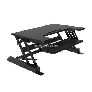 JEO LD02S Small Size Keyboard Tray Retractable Adjustable Standing Desk