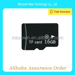 cheap hot selling sd memory card 16gb