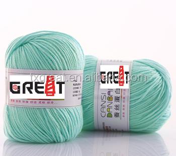 Reasonable Price Crochet Yarn Wholesale Thrown Silk Yarn Buy