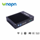 China Competitive Prices 2 LAN Port Industrial Intel J3160 Desktop Computers Server 12v Fanless Mini PC