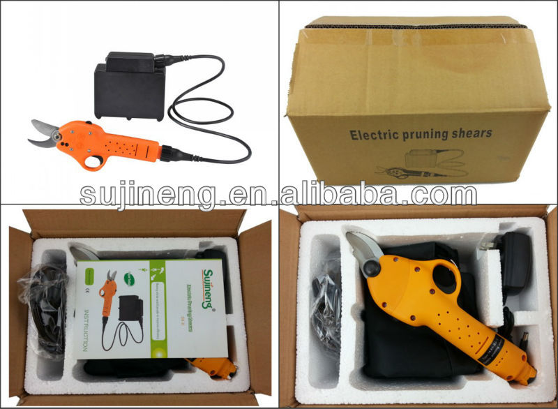 Li-battery sujineng electric tree pruning shears