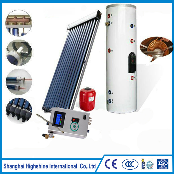 Custom sunny energy water systems High Quality Pressurized Split Solar Water Heating System Certificated