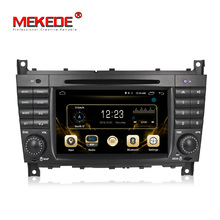Mekede Fábrica 7 ''4G LTE 2din Pure Android 7.1 DVD player Do Carro para o Benz Inteligente W203 C180 C200 c220 C230 C240 C250 CLK220 CLK240