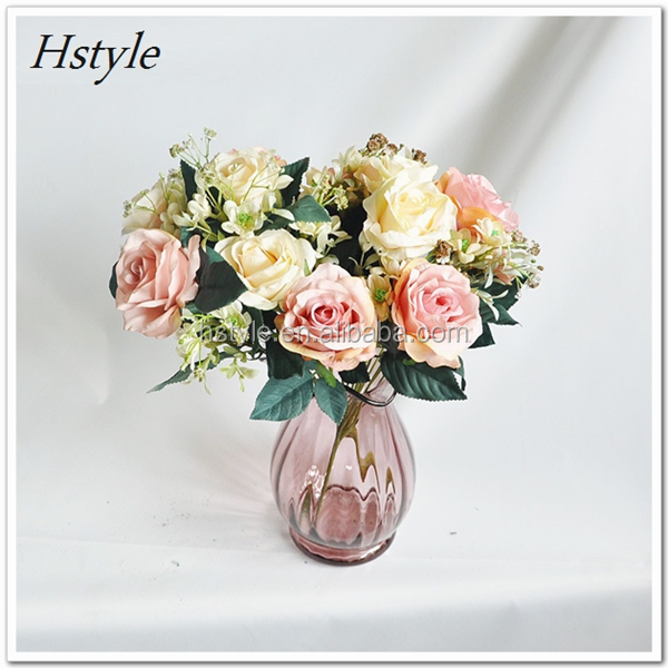 Wholesale Hand-Made Artificial Silk Flower Four Color High-Grade ...