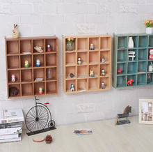 Furniture Ornamental Wooden Wall Shelf