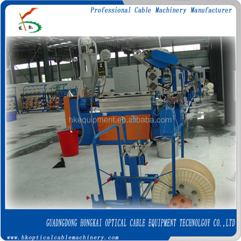 Hk-35 Electric Wire And Cable Production Line/plastic Wire Extrusion ...