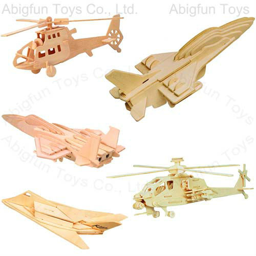 aircraft woodcraft construction kits, 3d hecopter wooden model kits