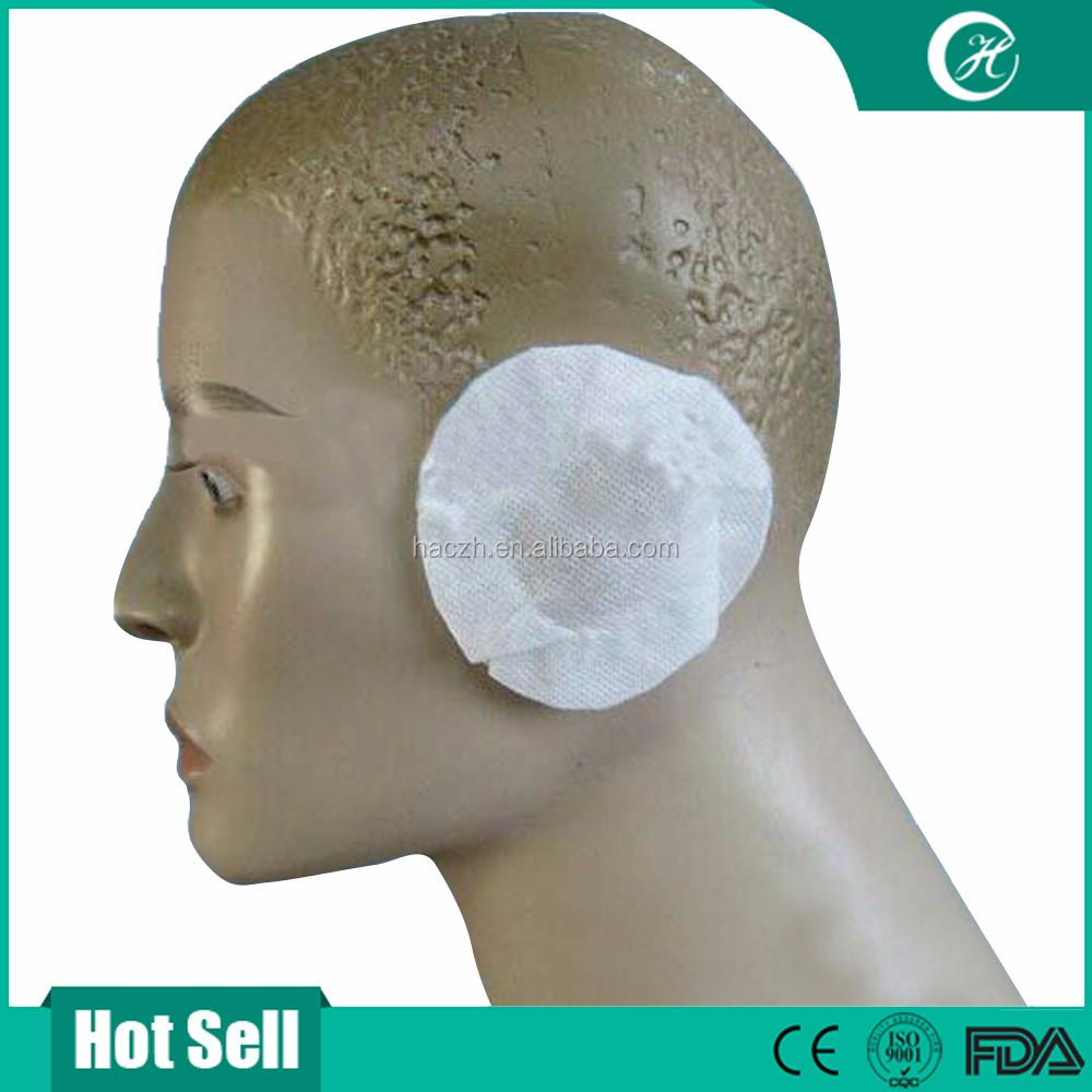 Non woven disposable mic covers, and headset earphone cover with elastic