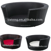 Nice comfortable small rattan wicker bed for dog