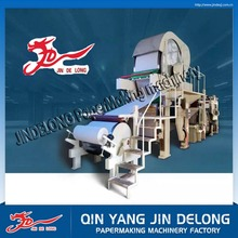 Small scale toilet paper making machine for sale