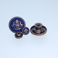 Any color custom company logo engraved custom jeans rivets buttons