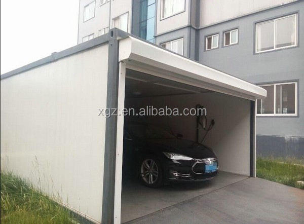 Personal steel container garage