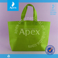 Hot sale solid color eco non woven shopping bag