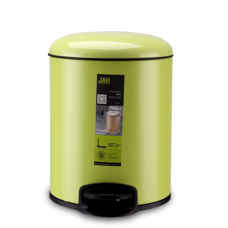 4L Small Metal Solid Pedal Waste Container Cheap Waste Bin Container Price