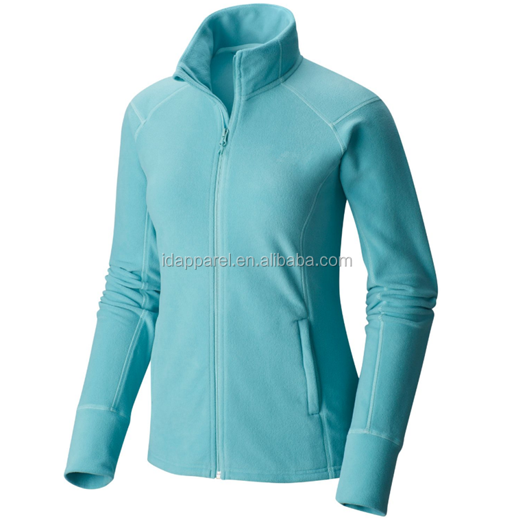 Outdoor high quality fleece jacket women