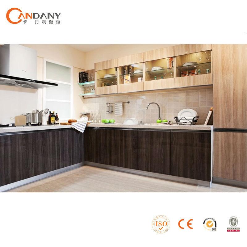Fácil instalado de acrílico del gabinete de la cocina de los diseños ...