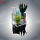 clear acrylic makeup brush holder acrylic cosmetic pencil display