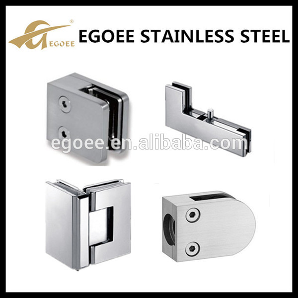 Stainless Steel Glass Fixing Bracket, Glass Shelf Bracket Glass Holder