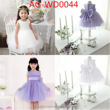 NEW Flower Girl Princess Dress Kids Party Pageant Wedding Bridesmaid Tutu Dress AG-WD0044