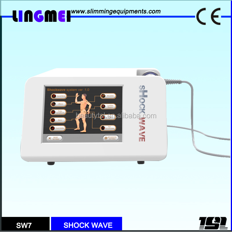 Pain Relief Skin Lifting RSWT Machine Body Slimming Physical Therapy Radial Shockwave Machine