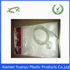 Free sample hot sales custom design header cards plastic opp bag with hanging hole.