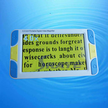 SR500 5 inch Low Vision Aid Reading Digital Video Magnifier