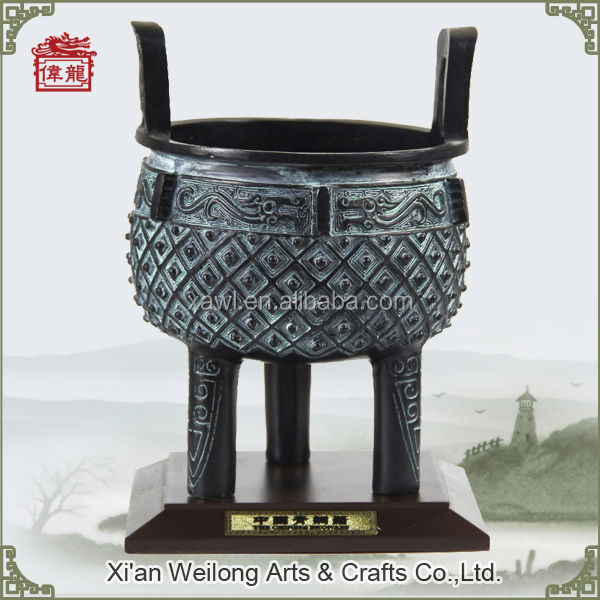 Metal arts and craft Chinese products antique bronze replica