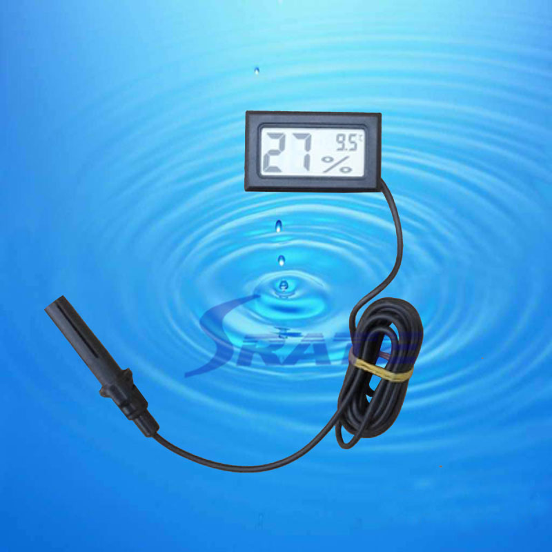FY-12 Embedded temperature humidity meter electronic temperature humidity digital temperature hygrometer with probe