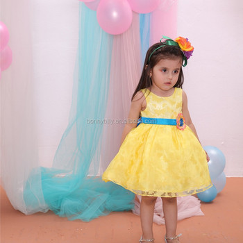 de3e2457781f Fresh Color One Year Baby Party Dresses,Cute Baby Girls Party Dress ...