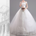 Wholesale high-grade tulle lace formal maxi wedding dress Bridal Gowns