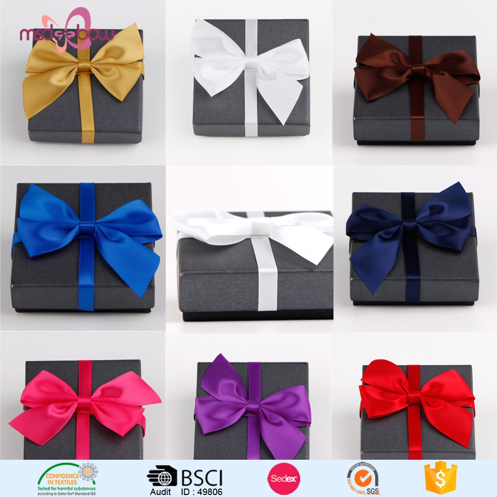 personalized satin ribbon bows