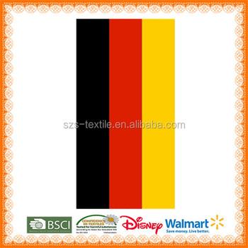 Almanya Bayrağı Baskılı Düz Plaj Havlusu Buy Düz Plaj Havlusu